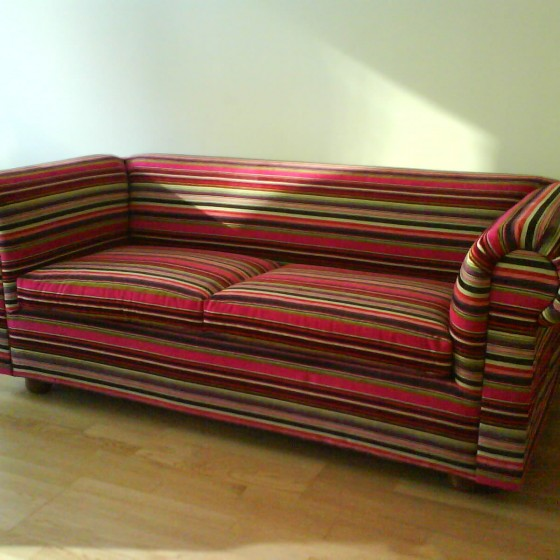 Re-Upholstery Sample