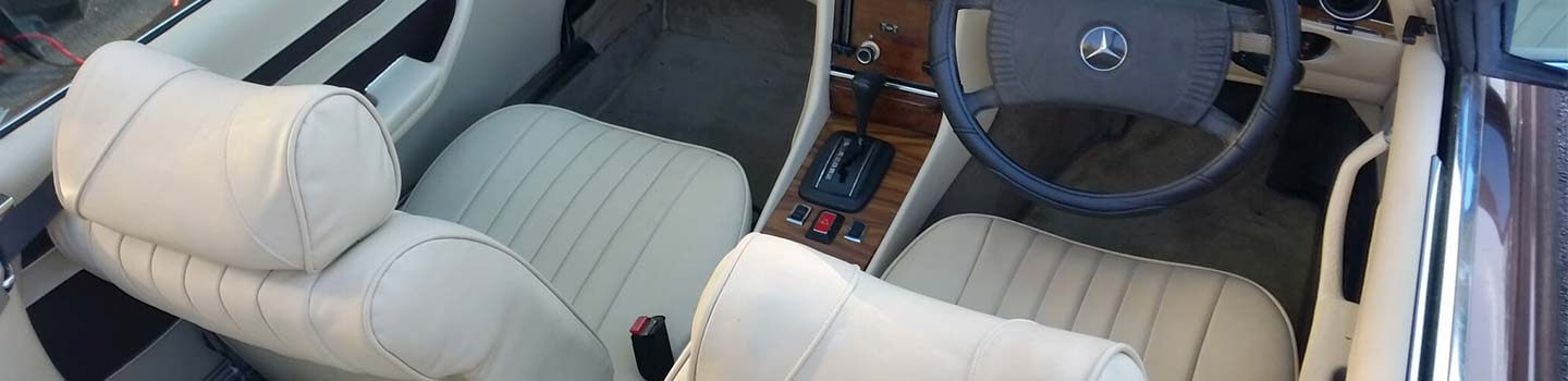Mercedes Benz Interior Restoration